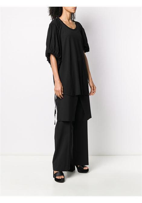 T-shirt oversize con maniche asimmetriche ANN DEMEULEMEESTER | Top | 2001-2416-P-228099