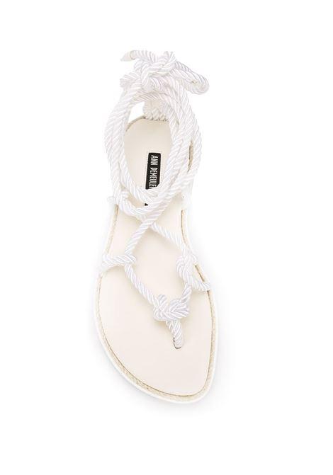 Sandali con chiusura a corda ANN DEMEULEMEESTER | Scarpe | 2001-2829-P-356001