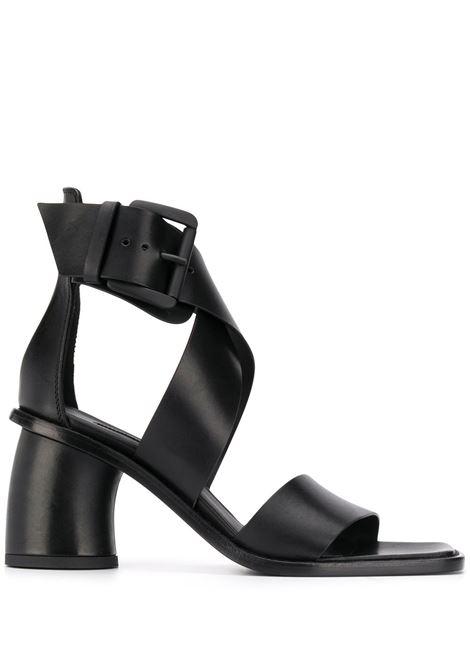 Sandali in pelle nera ANN DEMEULEMEESTER | Scarpe | 2001-2838-P-363099