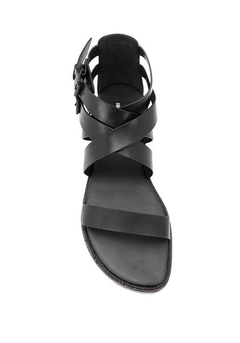 Sandali con doppia fibbia ANN DEMEULEMEESTER | Scarpe | 2001-4228-390099