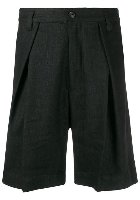 Bermuda nero ANN DEMEULEMEESTER | Shorts | 2007-3410-195099