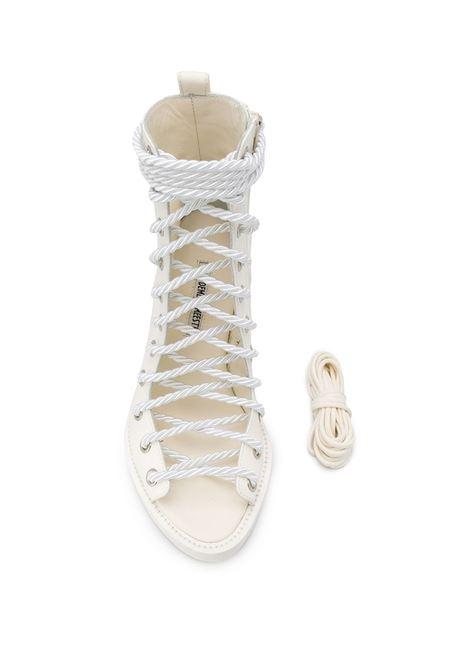 Stivali allacciati con punta aperta ANN DEMEULEMEESTER | Scarpe | 2013-2808-356001
