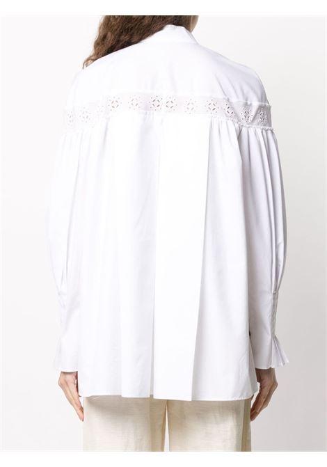 Blusa con colletto alla coreana CEDRIC CHARLIER | Camicia | A0222 40311