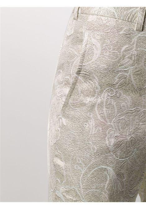 Pantaloni con tessuto a fiori COMME DES GARCONS | Pantalone | GE-P003-0511