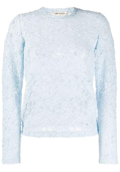 T-shirt semi trasparente COMME DES GARCONS | T-shirt | GE-T049-0511