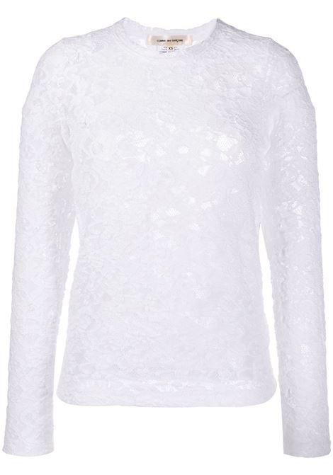 T-shirt semi trasparente COMME DES GARCONS | T-shirt | GE-T050-0512