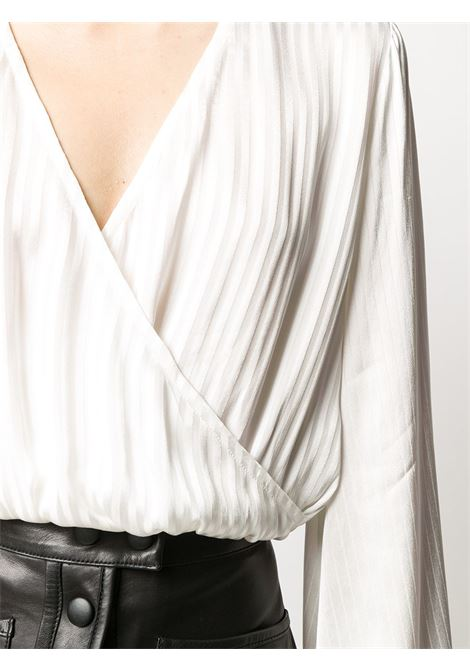 Blusa incrociata a righe FEDERICA TOSI | Blusa | FTE20BL014.0RA00470001