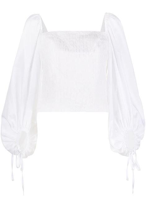 Blusa con scollo quadrato. FEDERICA TOSI | Blusa | FTE20BL144.0TE00640001