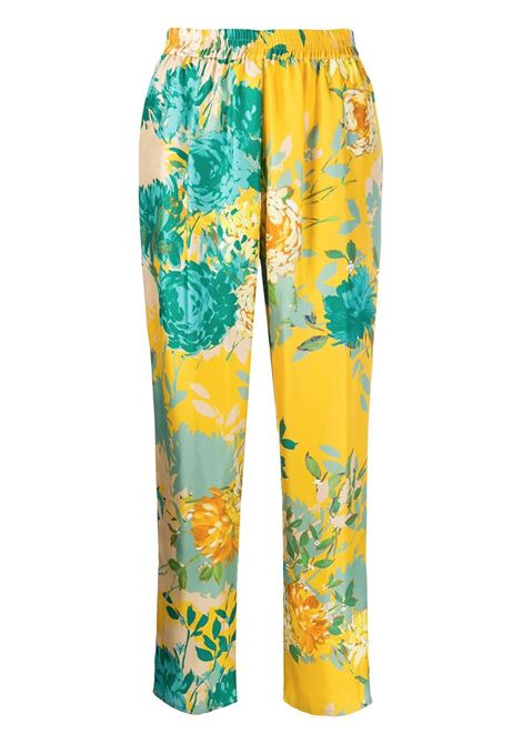 Pantaloni a fiori Mila GIanluca Capannolo   Pantalone   20EP426 450 MILA25