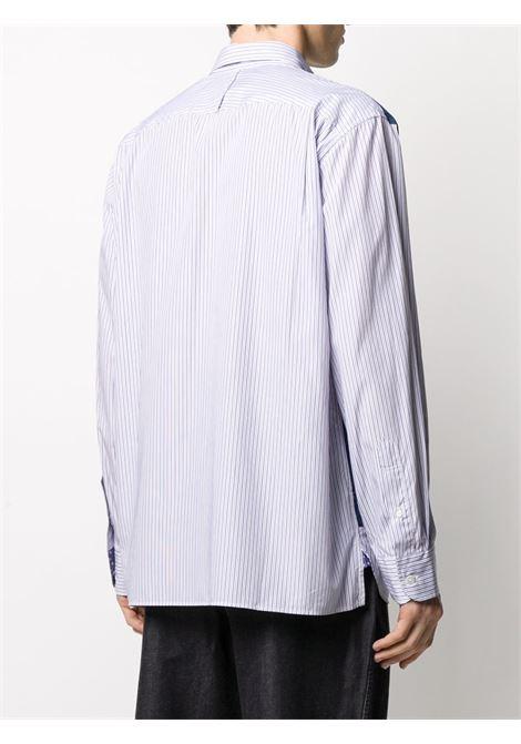 Camicia a righe con davanti denim JUNYA WATANABE MAN | Camicia | WE-B015-0511