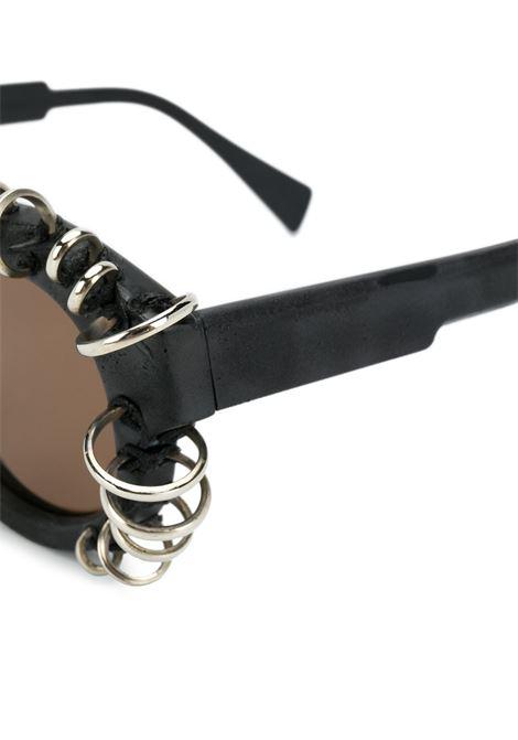 Occhiali da sole tondi Kuboraum | Occhiali | L2 46-22 BM VS 2BROWN