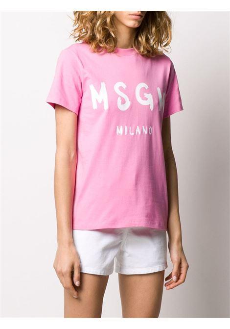 T-shirt con logo MSGM | T-shirt | M60 20729812