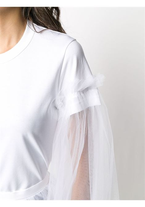 T-shirt con maniche in tulle NOIR KEI NINOMIYA | T-shirt | 3E-T001-0512