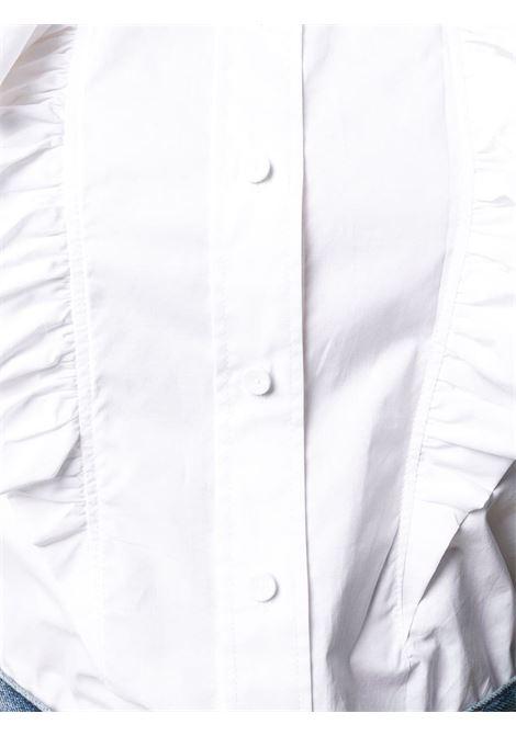Camicia bianca con ruche PHILOSOPHY di LORENZO SERAFINI | Camicia | A0205 21261