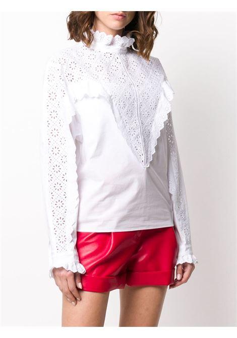 Camicia con pizzo sangallo PHILOSOPHY di LORENZO SERAFINI | Camicia | A0218 7261