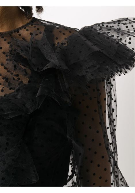 Blusa in tulle, a pois PHILOSOPHY di LORENZO SERAFINI | Camicia | A0228 2118555