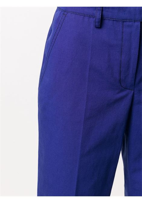 Pantaloni blu con risvolto PHILOSOPHY di LORENZO SERAFINI | Pantalone | A0314 739288