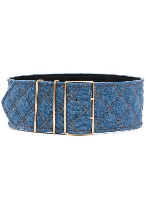 Cintura denim trapuntata PHILOSOPHY di LORENZO SERAFINI | Cintura | A3001 730295