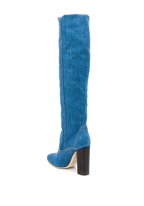 Stivali blu in cotone PHILOSOPHY di LORENZO SERAFINI | Scarpe | A3230 730295