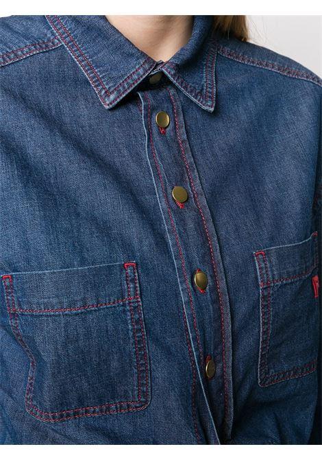 Camicia denim maniche lunghe PHILOSOPHY di LORENZO SERAFINI | Camicia | V0229 2131290