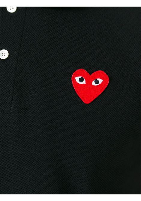 Polo con applicazione cuore PLAY COMME DES GARCONS | Polo | P1T0061