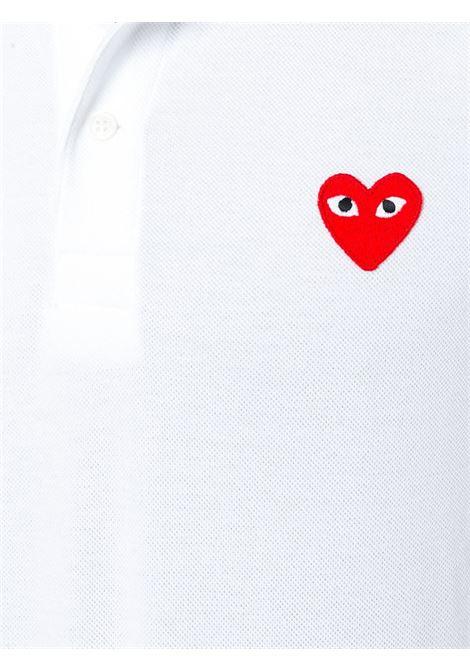 Polo con applicazione cuore PLAY COMME DES GARCONS | Polo | P1T0065