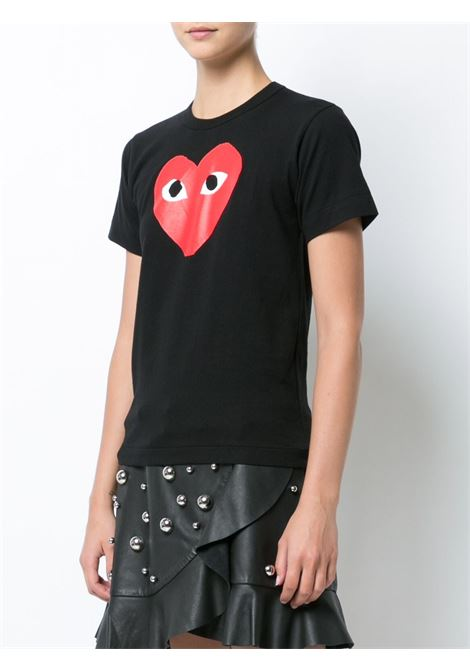 T-shirt con stampa cuore PLAY COMME DES GARCONS | T-shirt | P1T1111