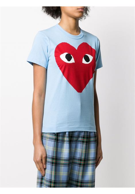 T-shirt con stampa cuore PLAY COMME DES GARCONS | T-shirt | P1T2731