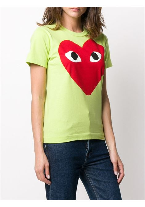 T-shirt con stampa cuore PLAY COMME DES GARCONS | T-shirt | P1T2732