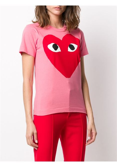 T-shirt con stampa cuore PLAY COMME DES GARCONS | T-shirt | P1T2733