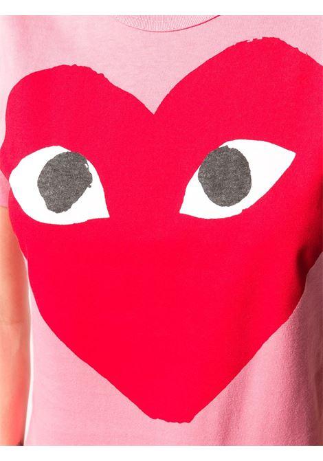 PLAY COMME DES GARCONS   T-Shirts   P1T2733