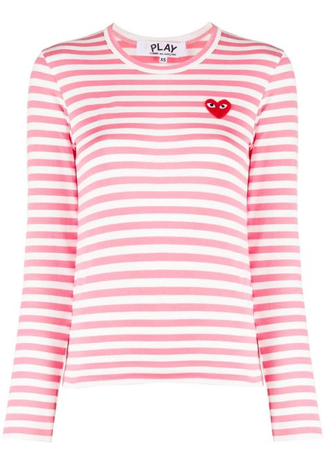 Maglia a righe PLAY COMME DES GARCONS | T-shirt | P1T2773