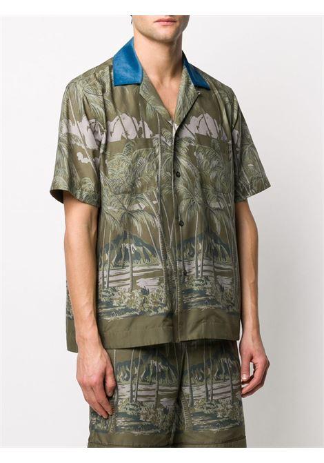 Camicia con stampa di Sacai SACAI | Camicia | 20-02192M501