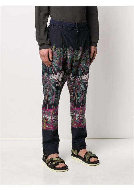 Pantaloni con stampa SACAI | Pantalone | 20-02194M926