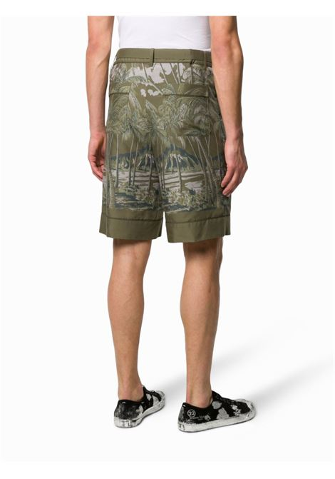 Pantaloncino con stampa SACAI | Shorts | 20-02195M501