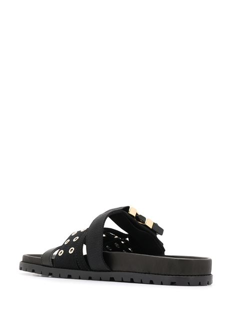 Sandali con fibbie SACAI | Scarpe | 20-02293M1