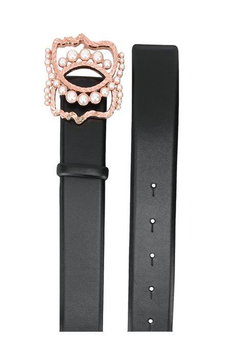 Cintura nera in pelle VIVETTA | Cintura | 6621 69799000