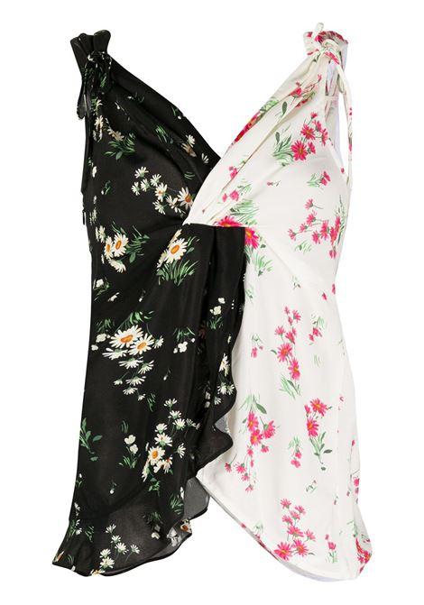 Top a fiori bicolore VIVETTA | Top | T051 5A03S199