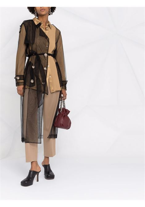 robe manteau con cintura Act n.1 | Trench | PSC210304