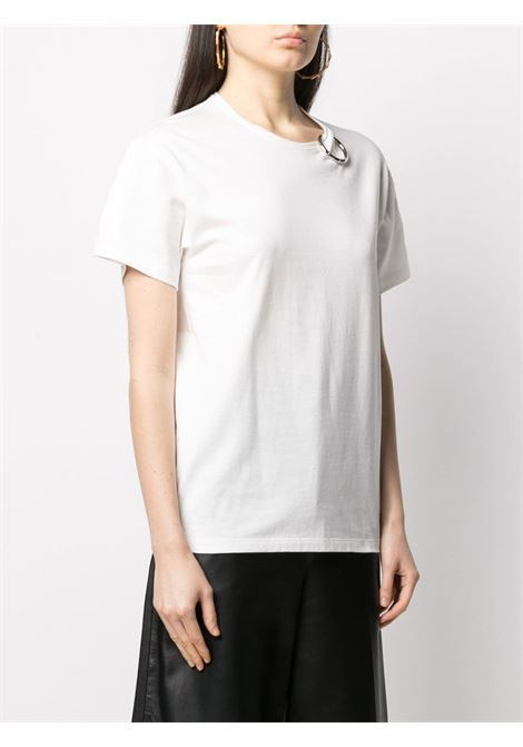 T-shirt con decorazione anello color argento Act n.1 | T-shirt | PSTS210301