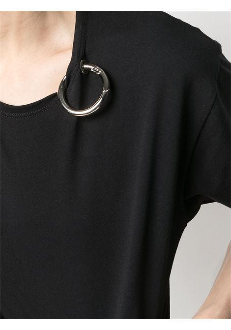 T-shirt con decorazione anello color argento Act n.1 | T-shirt | PSTS210303