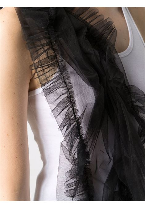 Top smanicato con ruches in tulle Act n.1 | Top | SSTS210101