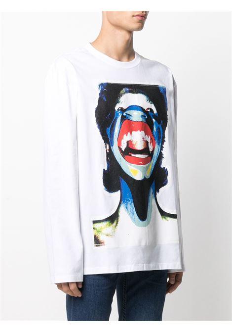 T-shirt unisex CHARLES JEFFREY LOVERBOY | Maglia | CJLPS21GLSTWHTSCM