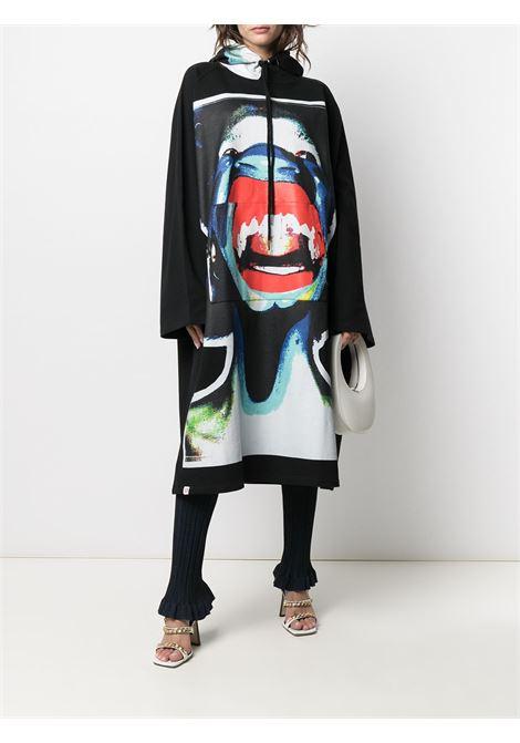 Felpa kimono unisex oversize CHARLES JEFFREY LOVERBOY | Kimono | CJLPS21OKHBLKSCM