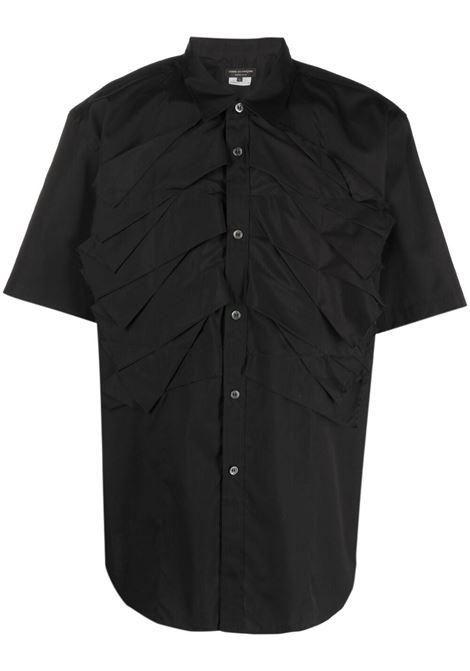 Camicia manica corta con maxi plissettatura frontale COMME DES GARCONS Homme Plus | Camicia | PG-B025-0511