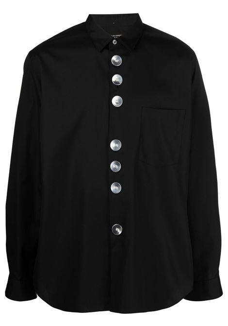 Camicia con bottoni grandi in metallo argentato COMME DES GARCONS Homme Plus | Camicia | PG-B026-0511