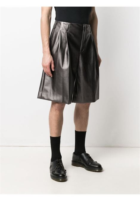 Shorts in ecopelle a gamba ampia COMME DES GARCONS Homme Plus | Shorts | PG-P016-0511