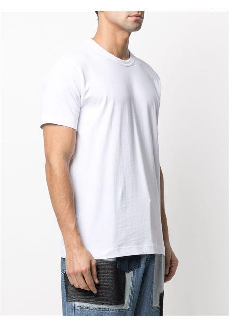 T-shirt girocollo in cotone COMME DES GARCONS SHIRT | T-shirt | FZ-T002-PER4