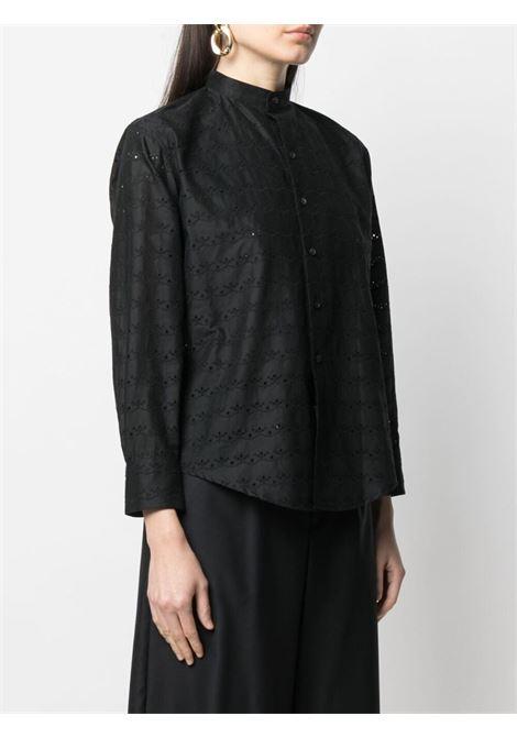 Camicia con collo alla coreana COMME DES GARCONS TRICOT | Blusa | TG-B004-0511