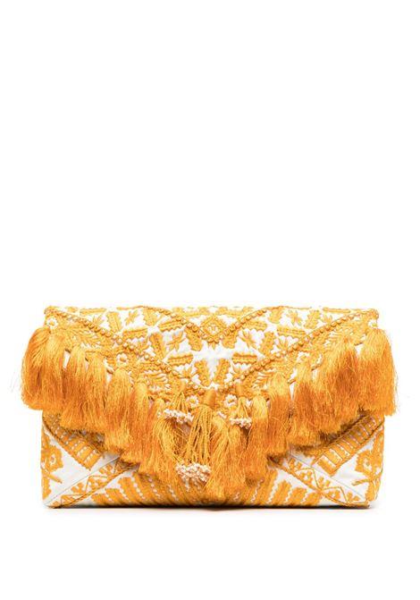 Clutch ricamata con frange DRIES VAN NOTEN | Borsa | BW211-801EMBQ801008